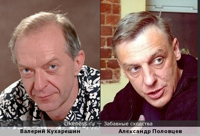 Кухарешин и Половцев