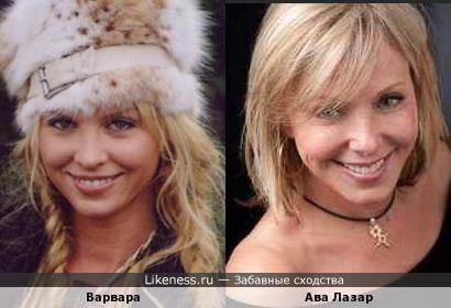 """Героиня """"Барбары""""- копия Варвары"""