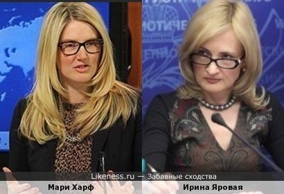 -Когда Вы говорите, Мари Иринович, впечатление такое, что Вы бредите.