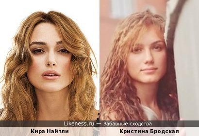 Новая жена И.Петренко похожа на Найтли