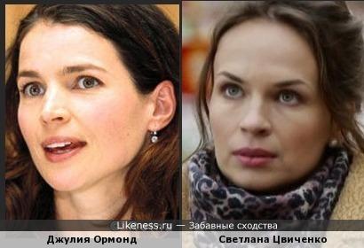 Цвиченко и Ормонд
