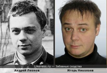 Все Игори Николаевы на кого-нибудь похожи