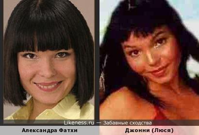 Карамелька похожа на актрису