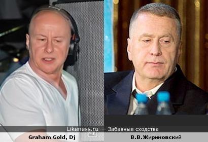 Грэхам Голд похож на Жириновского