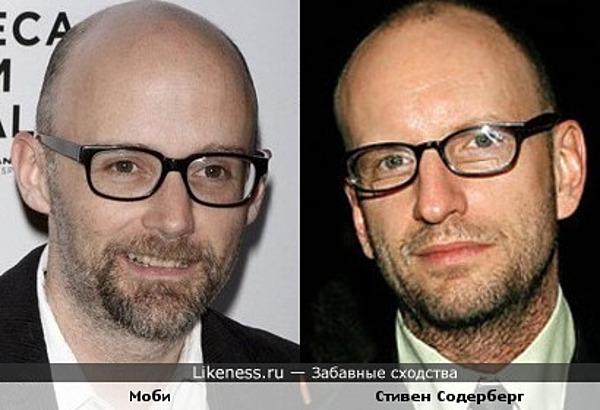 Стивен Содерберг похож на Моби