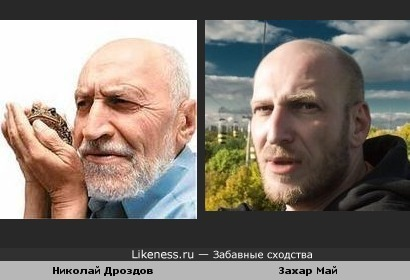 Захар Май и Николай Дроздов похожи
