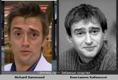 Richard Hammond vs Константин Хабенский
