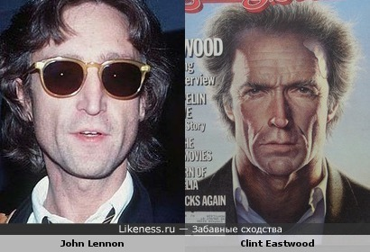John Lennon vs Clint Eastwood