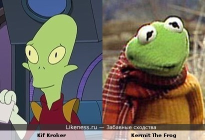 Kif Kroker vs Kermit The Frog