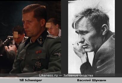 Тиль Швайгер напоминает Василия Шукшина
