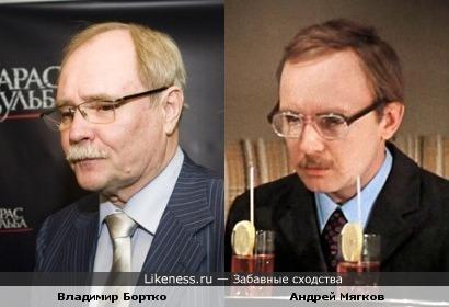 Владимир Бортко напоминает Андрея Мягкова