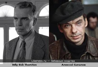 """Билли Боб Торнтон в х\ф """"Человек, которого не было"""" напоминает Алексея Баталова"""