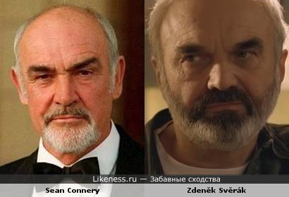 Sean Connery и Zdeněk Svěrák