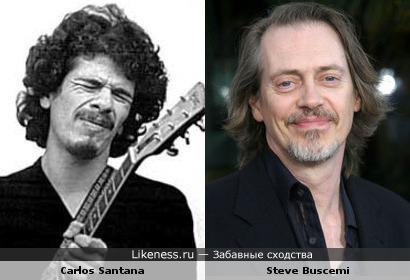 Carlos Santana и Steve Buscemi
