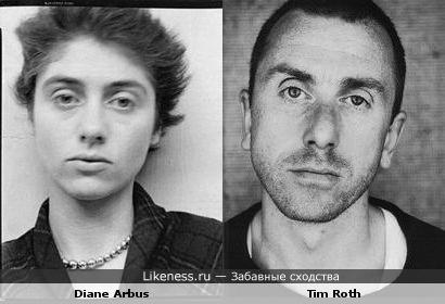 Диана Арбюс (Diane Arbus) и Тим Рот (Tim Roth)