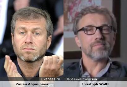 Кристоф Вальц напомнил Романа Абрамовича