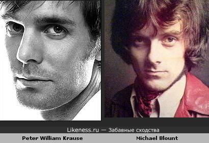 Michael Blount и Peter Krause