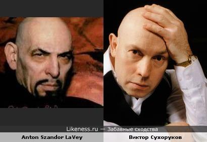 Антон Шандор Ла-Вей напомнил Виктора Сухорукова