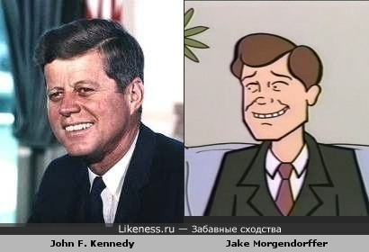 35-й президент США и отец Дарьи