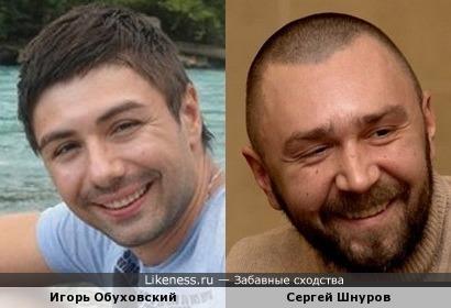 Игорь Обуховский и Сергей Шнуров