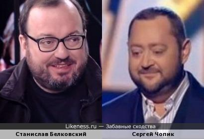Белковский и Чопик