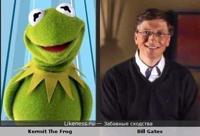 Kermit The Frog - Bill Gates