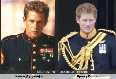 На этом фото Майкл Дудикофф напомнил принца Гарри