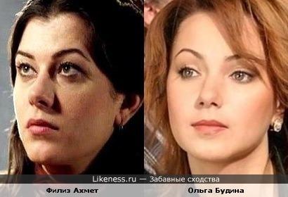 Филиз Ахмет похожа на Ольгу Будину