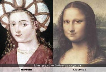 """Лингвистический пост: """"Смеющаяся, весёлая"""" (Может быть, раскрыта тайна того, кто такая Мона Лиза?)"""