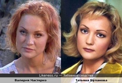 Валерия Мастерко похожа на Татьяну Буланову