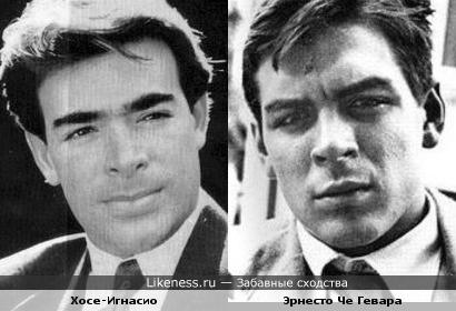Хосе-Игнасио похож на безусого Эрнесто Че Гевара