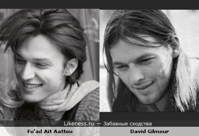 Фуад Эт Аату как две капли похож на Дэйва Гилмора.