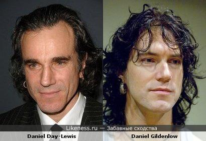 Лидер группы Pain of salvation Дэниэл Гильденлёв похож на актёра Дэниэла Дэй-Льюиса
