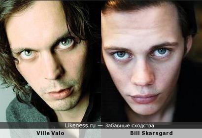 Вилле Вало и Билл Скарсгард