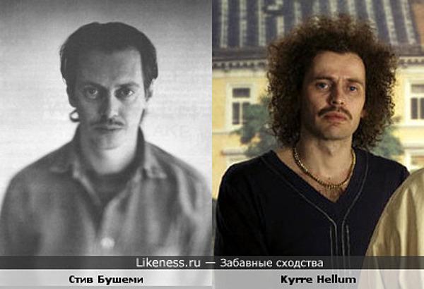Kyrre Hellum похож на Стива Бушеми