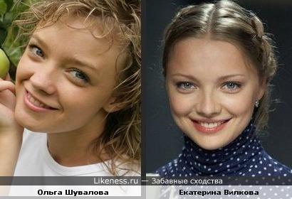 Ольга Шувалова и Екатерина Вилкова