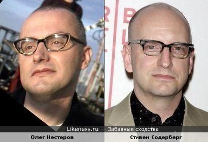Олег Нестеров и Стивен Содерберг