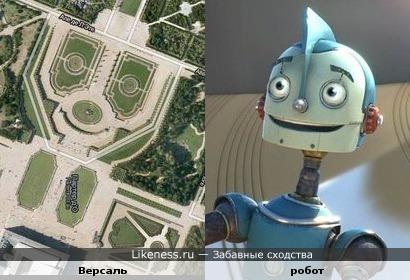 "Участок парка ""Версаль"" напоминает персонажа м/ф ""Роботы"""