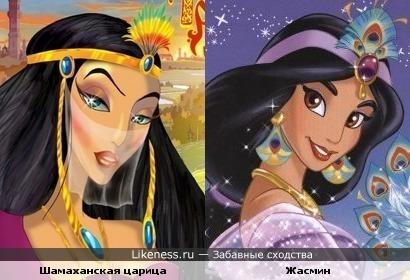 Похожие персонажи мультфильмов