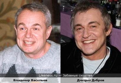 Бард Владимир Васильев и Дмитрий Дибров