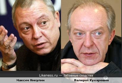 Максим Никулин и Валерий Кухарешин