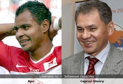 Футболист напоминает министра