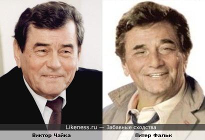 Бывший мэр г. Ривне и актёр похожи