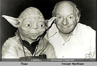 Мастер Йода и его создатель