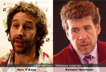 Криc О'Дауд и Валерий Яременко