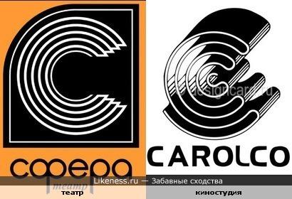 Логотипы театра и киностудии
