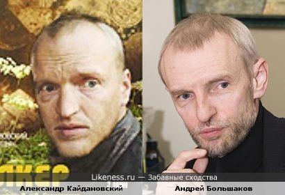 "Александр Кайдановский и Андрей Большаков (гр. ""Ария"")"