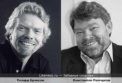 Ричард Брэнсон и Константин Ремчуков