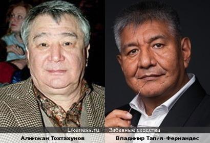 Алимжан Тохтахунов и Владимир Тапия-Фернандес