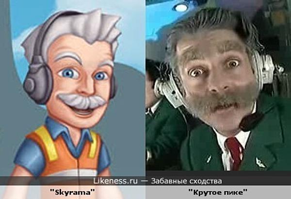 """Персонаж игры """"Skyrama"""